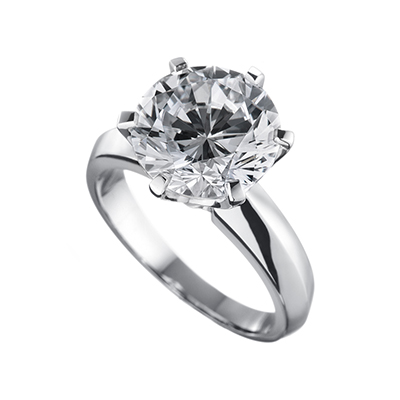 ORRO Classic 6 Prongs Solitaire (3.70ct)
