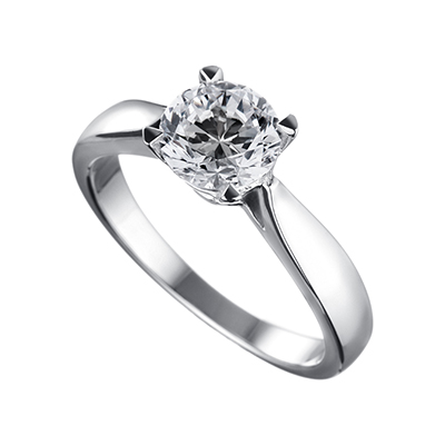 ORRO Classic 4 Prongs Solitaire (1.00ct)