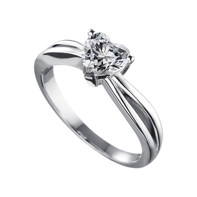 ORRO Ring 11104 in 18K White Gold