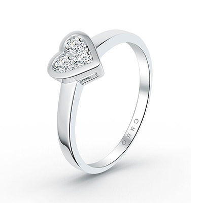 ORRO Love Edition Heart Caged Ring