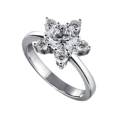 ORRO Ring Collection in 18K White Gold (P.Code: 12016)