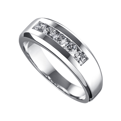 ORRO Ring Collection in 18K White Gold (P.Code: 12031)