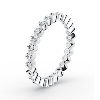 ORRO Scallop Band Ring