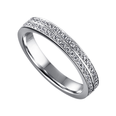 ORRO Double Bejeweled Band