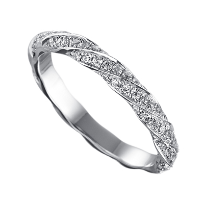 ORRO Ring Collection in 18K White Gold (P.Code: 18046)