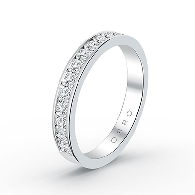 ORRO Royal Half Eternity Ring (Thicker Band)