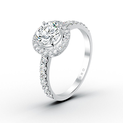 ORRO Spectacular Ring in 18K White Gold