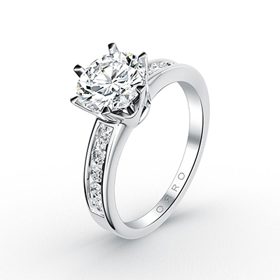 ORRO Classic Half Channel Ring