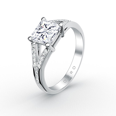 ORRO Princess Cut Crossroads Ring