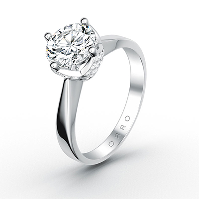 ORRO Classic Chic Solitaire Ring