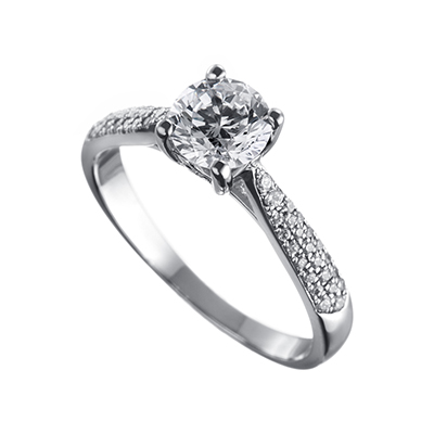 ORRO Ring Collection in 18K White Gold (P.Code: 19068)