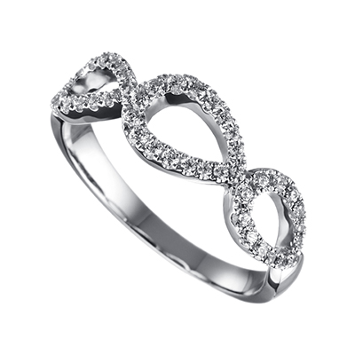 ORRO Ring Collection in 18K White Gold (P.Code: 19104)
