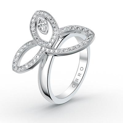 ORRO Forever Charmed Ring in 18K Rose Gold