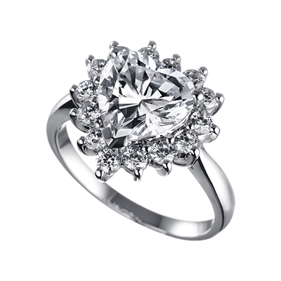 ORRO Ring Collection in 18K White Gold (P.Code: 19123)