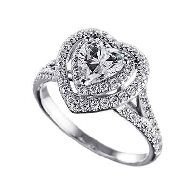 ORRO Ring Collection in 18K White Gold (P.Code: 19143)