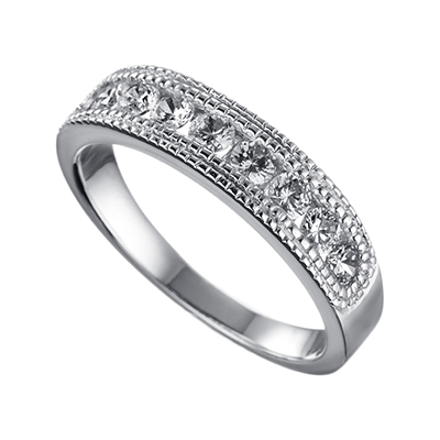 ORRO Ring Collection in 18K White Gold (P.Code: 19146)