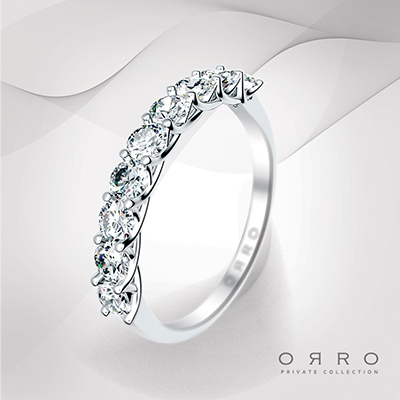 ORRO Happy Nine Band Ring