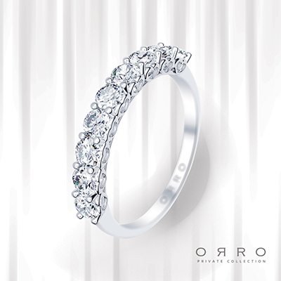 ORRO Happy Love Band Ring