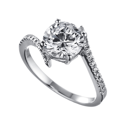 ORRO Ring Collection in 18K White Gold (P.Code: 19151)