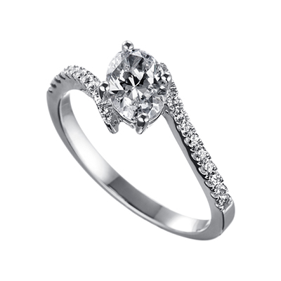 ORRO Ring Collection in 18K White Gold (P.Code: 19153)