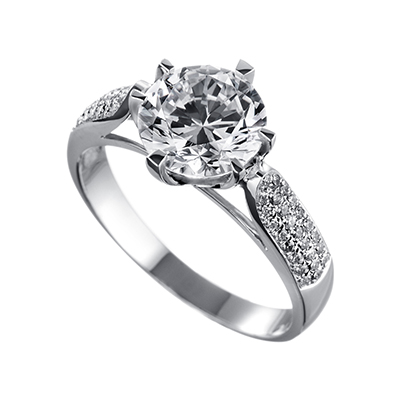 ORRO Ring Collection in 18K White Gold (P.Code: 19156)