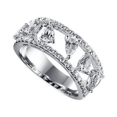 ORRO Ring Collection in 18K White Gold (P.Code: 19159)