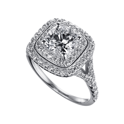ORRO Ring Collection in 18K White Gold (P.Code: 19161)