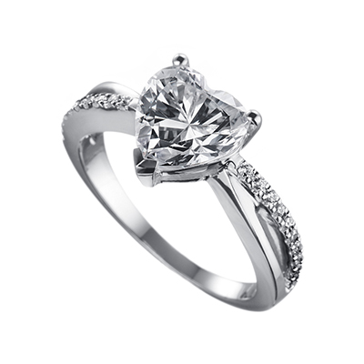 ORRO Valentina Hearts Ring (1.0ct)