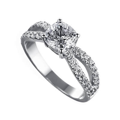 ORRO Ring Collection in 18K White Gold (P.Code: 19204)