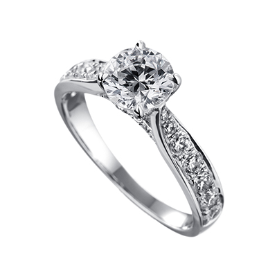 ORRO Ring Collection in 18K White Gold (P.Code: 19232)