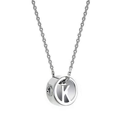The ORRO Colette Initials Pendent (Classic) in 18K Yellow Gold