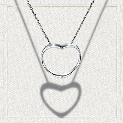 ORRO Shadow of Love Necklace