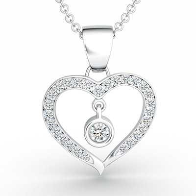 ORRO Love Edition Eternal Hearts Pendent