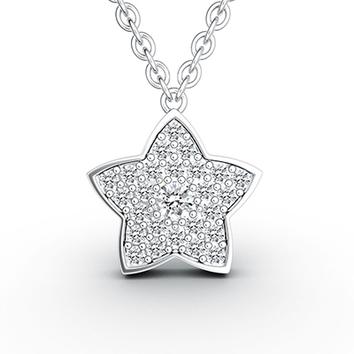 ORRO Star of My Life Pendant (Small)