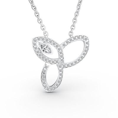 ORRO Sweet Memories Necklace in 18K Rose Gold
