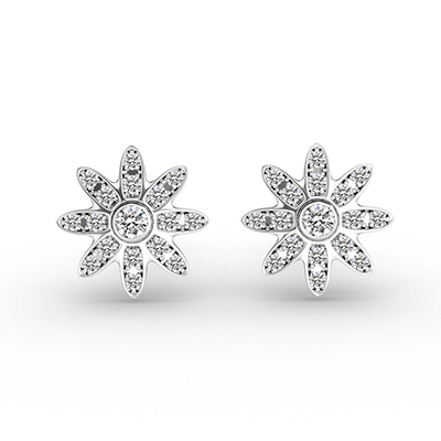 ORRO Daisy-Inspired Earrings