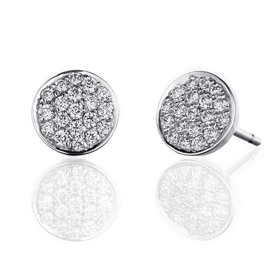 ORRO Earring Collection in 18K White Gold (P.Code: 39033)