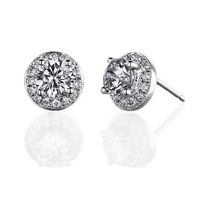 ORRO Juliane Earrings (1.0ct on each side)