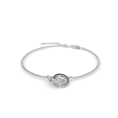 ORRO Forever Yours Bracelet in 18K White Gold
