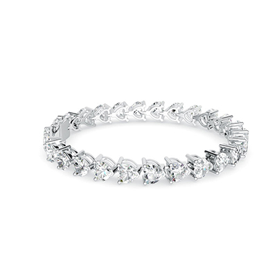 ORRO Dazzle Me Over Bracelet in 18K White Gold