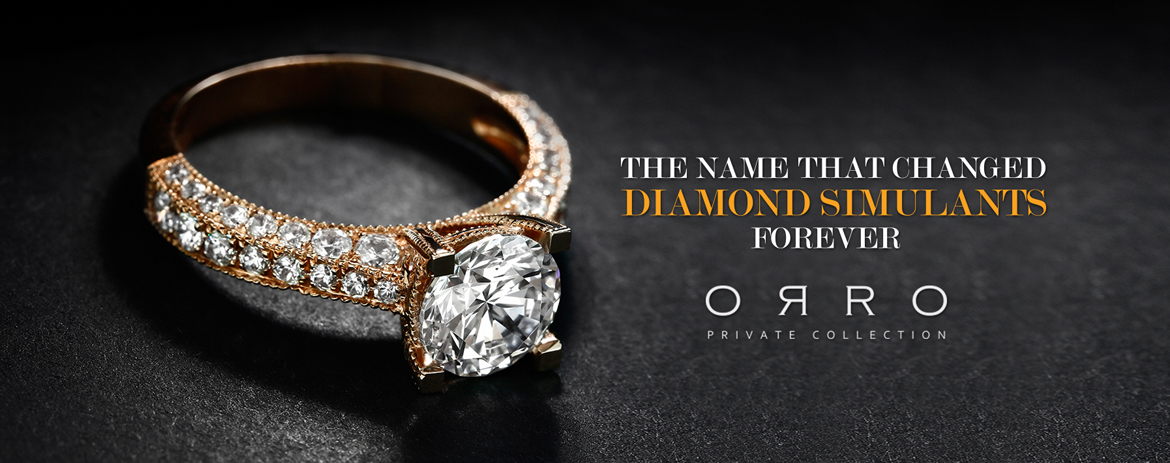 4405fca121b3 ORRO Private Collection – The Name That Changed Diamond Simulants Forever