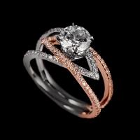 Lago di como wedding ring