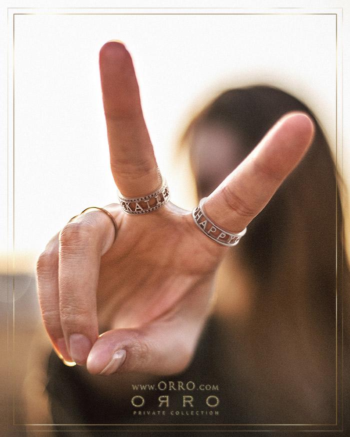 ORRO Customized Band Ring